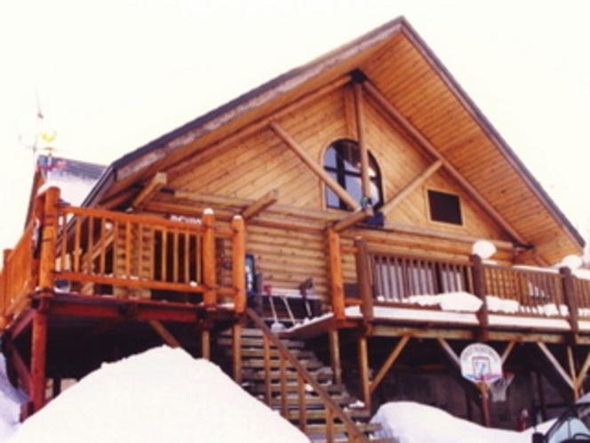 真冬のパインハウス2