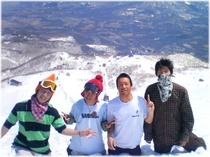 春もスキーで楽しく