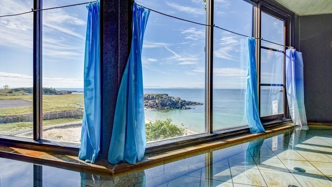 ≪素泊まり≫空港から車で3分!玄界灘を眺める展望浴場