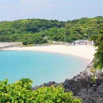 錦浜海水浴場(当館から徒歩5分)