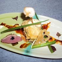 【夕食一例】  洋風アレンジ料理