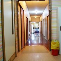 【館内一例】廊下