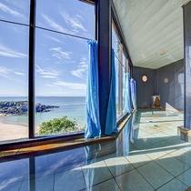 *【男湯一例】玄界灘を一望!波の音を聞きながらゆっくり身体を癒してください。