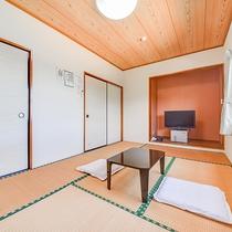 *【海側和室一例】お部屋は全室、無線LAN接続OKです(無料)。