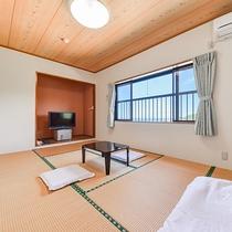 *【海側和室一例】布団敷きはセルフサービスでお願いしております。