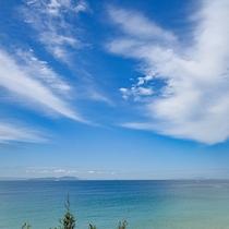 *【錦浜海水浴場】当館から徒歩5分。透明度が抜群のビーチ!