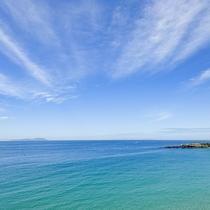 *【部屋からの景色】  目の前は青い海♪キレイな海に癒されて下さい