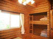 1階寝室 2段ベッド