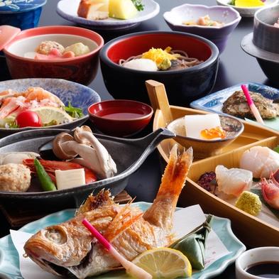 【のどぐろ付き会席】 人気の高級魚のどぐろを丸々一尾★ 選べる調理法♪
