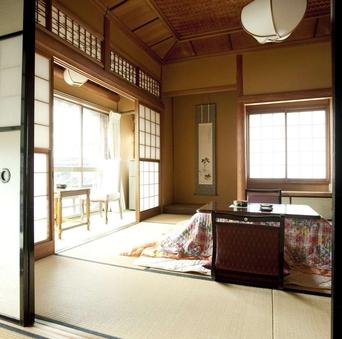 ぼたんの間 -special- 8畳の和室が2部屋付いた客室