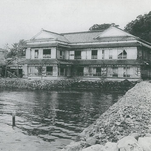 建造当時の渡月庵 (旧 柴端別館)