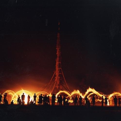 向田の火祭り(7月最終土曜日)