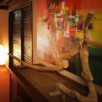 ■流木アート