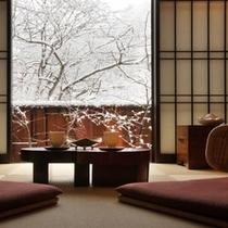 ■半露天風呂付きの和洋室