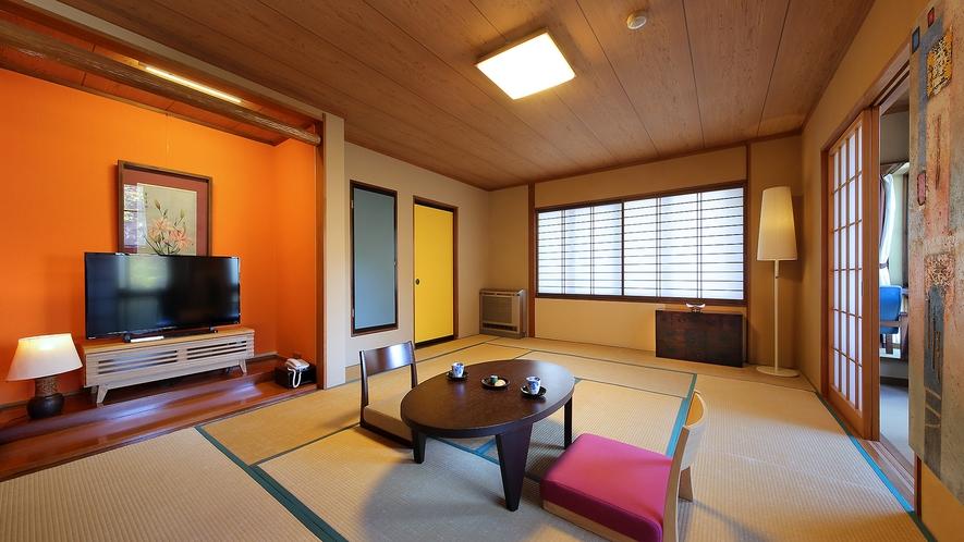 【明月】和室12畳(アウトバス・禁煙室)