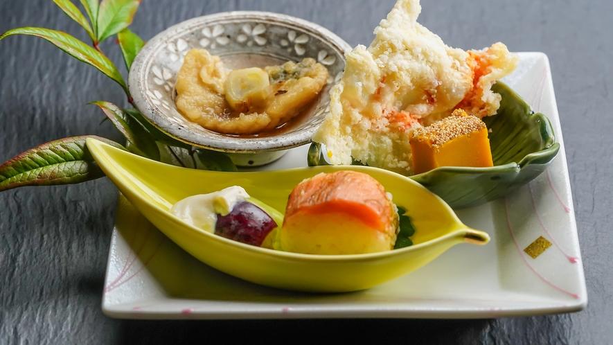【夕食一例】非日常の食を味わえる真心込めた手づくり料理