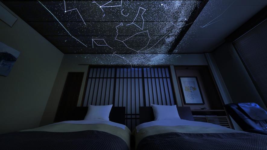 【風林】和洋室10畳ツインベッド(禁煙室)