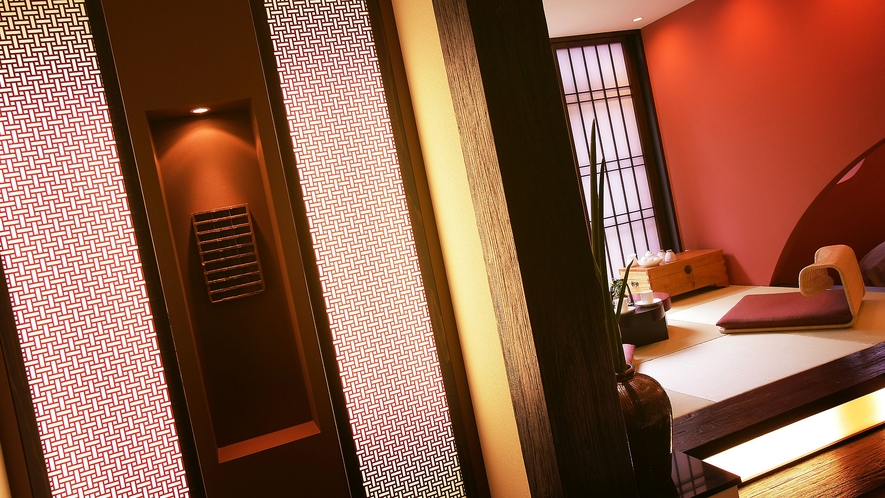 【特別室 山酔庵】源泉かけ流し半露天風呂付和洋室