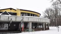 【外観】冬のレストハウス