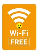 Wi-fiフリー!パスワードは必要ありません。