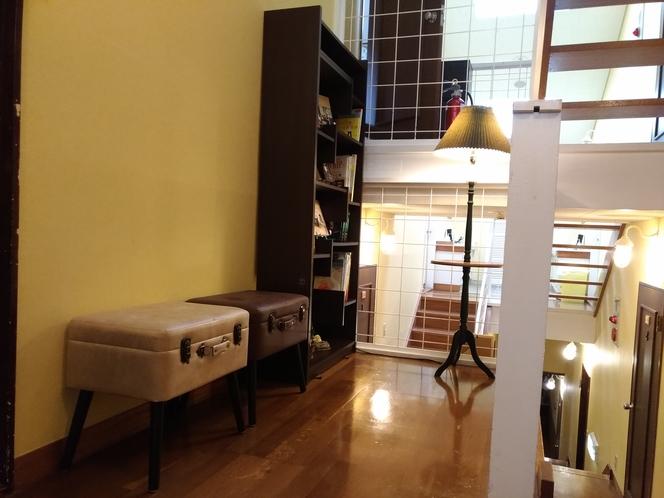 新たに読書スペースを設置いたしました。