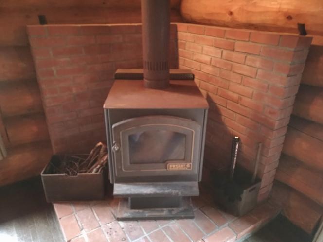 暖炉が使用できます。