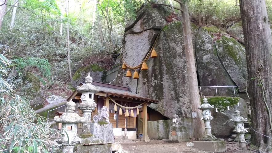 石割神社はハイキングにおススメです☆