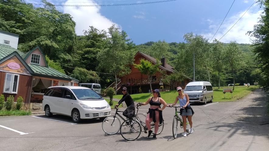サイクリングでリフレッシュ!