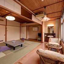 *湯ノ沢館・スタンダードな和室「10畳バス無」/トイレのみですが贅沢な眺望をお楽しみいただけます