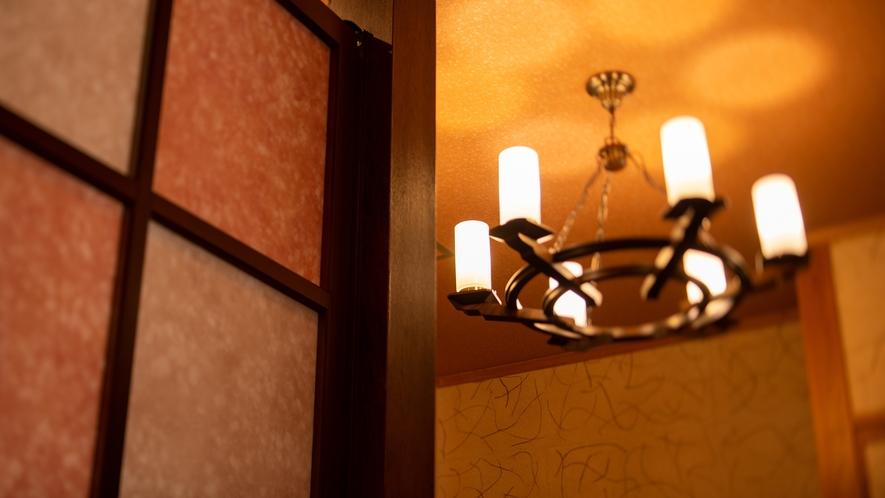 *湯峠館・露天風呂付客室「花伝」/室内のインテリアにもこだわりがございます