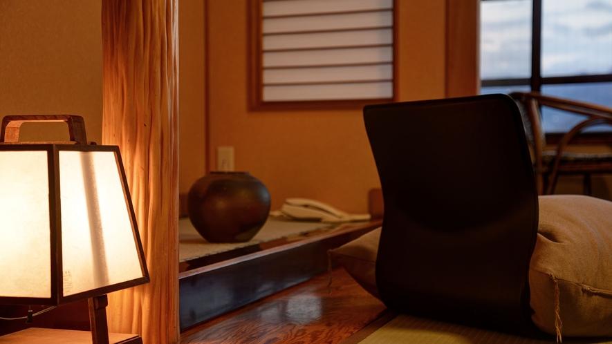 *湯ノ坂館・眺めの良い「和室10畳」/新幹線や街並みを良く見渡せます