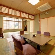 *湯ノ沢館・スタンダードな和室二間「呉竹」/二間続きの広さが自慢のお部屋