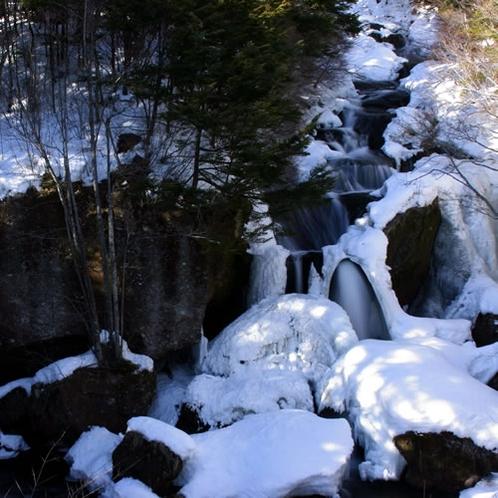 冬の竜頭の滝