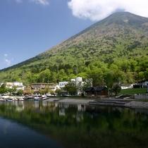 夏の中禅寺湖