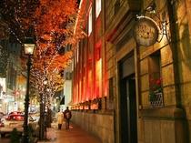 居留地(夜景):洋館のたたずまいが残る神戸の新しいファッションの発信地といえる場所です☆