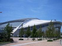 神戸ウィングスタジアム(ノエビアスタジアム神戸):ヴィッセル神戸のホームスタジアム。