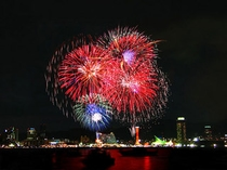みなと神戸海上花火大会:神戸の海と夜景をバックに開かれる花火大会☆約1万発が打ち上げられます!