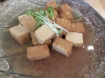 絹厚揚げの煮物