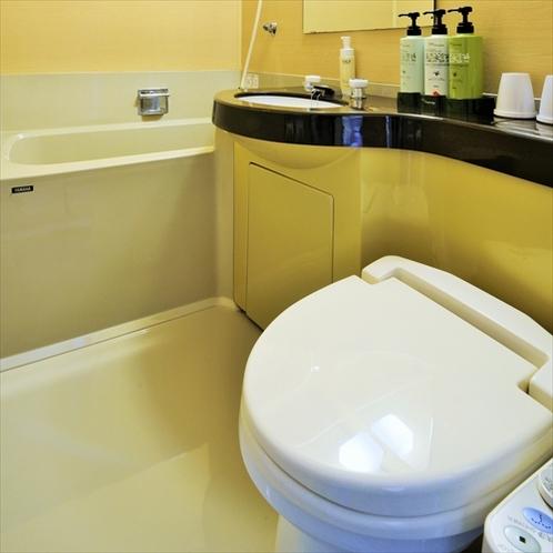 トイレ:全客室にウォシュレットを完備しています。