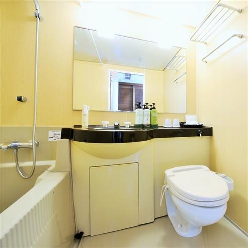 トイレ:全客室に ユニットバス&ウォシュレットを完備しています!!