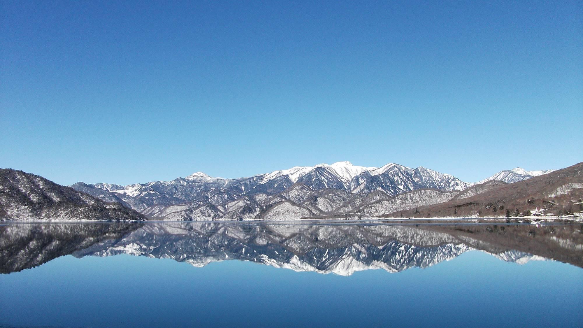 *冬/中禅寺湖