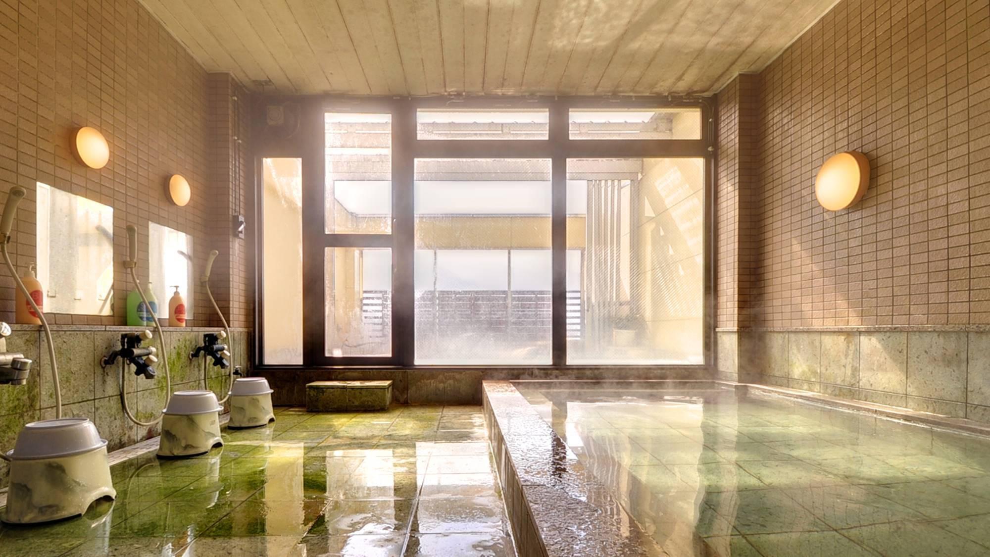 *内湯/湖畔に面した大浴場