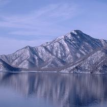 *中禅寺湖冬