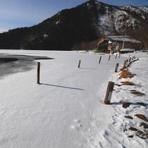 *冬の湯ノ湖