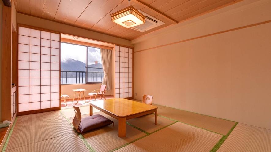 *新館和室10畳/ご家族やグル^プでのご宿泊におすすめです!足を伸ばしてのんびりとお寛ぎ下さい。