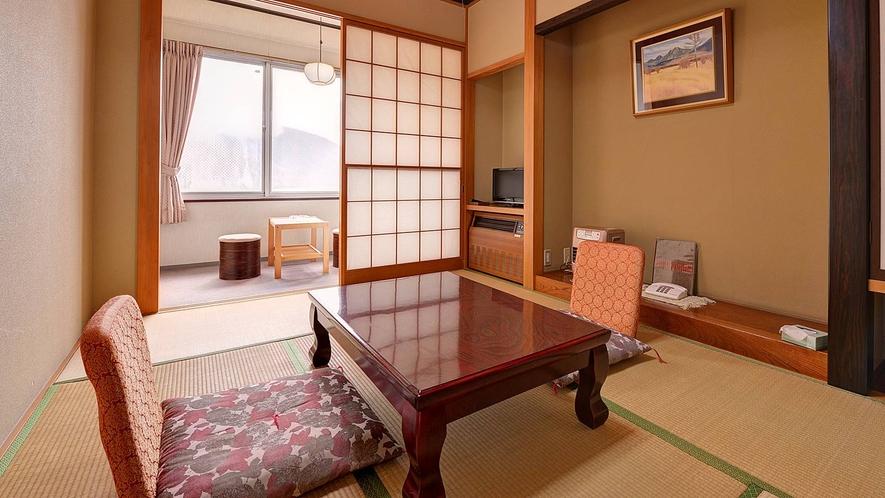 *本館和室6畳/一人旅やカップルでのご宿泊におススメ!ごゆっくりお寛ぎ下さい。