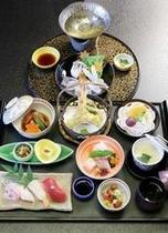 【御食事処 兆】夕食付プラン御食事イメージ