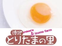 山口県山口市徳地 出雲ファームの卵を使用しています
