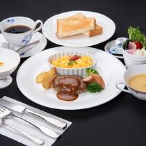 *朝食(洋食/一例)/選べる朝食☆パン派の方には洋朝食をご用意いたします。