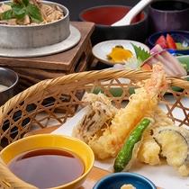 *夕食(定番 旬御膳)/地元の方にも人気のレストラン「兆-きざし-」にてお召し上がりいただきます